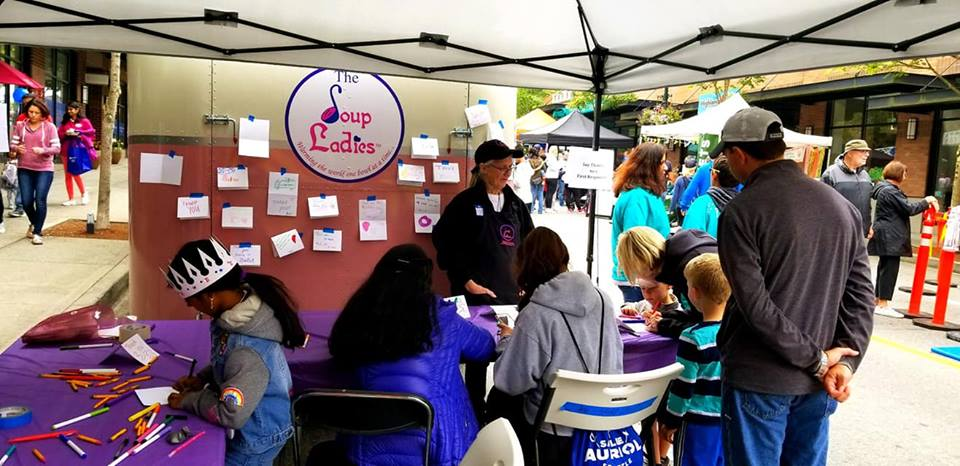 Issaquah Highlands Days thank you cards to first responders 2019